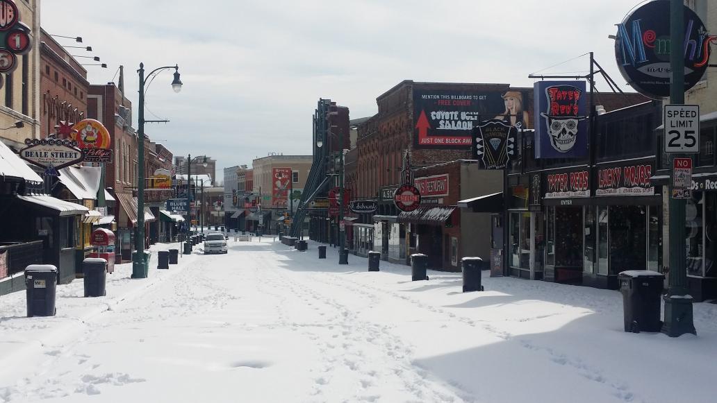 Blizzard on Beale http://t.co/ottmkTtRwY
