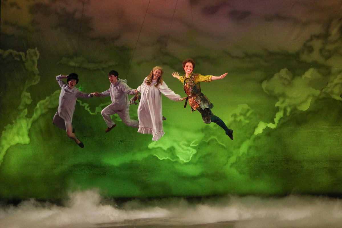 Let us whisk you away to a place where dreams are born & no one ever grows up! PETER PAN makes its CCM debut tonight! http://t.co/m4dQN4gGcs