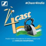 Make your #4cast before the #contest closes in an hour and #Cheer4India with us! #IndVsWI #CricketWorldCup #CWC15 http://t.co/El9mQ6mU7P