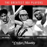 RT @sambitbal: The countdown to crown @cricketmonthly's  greatest ODI player has begun. Who's your pick? http://t.co/6Rc621lzud http://t.co…