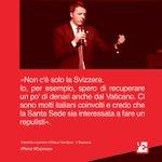 «Io, per esempio, spero di recuperare un po di denari anche dal Vaticano». @matteorenzi @fnicodemo #Espresso #Renzi http://t.co/P1bp6BhPZF