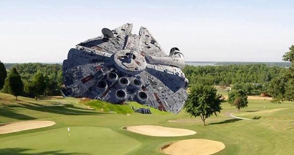 Photo from site of Harrison Ford's crash. http://t.co/AylVgDECFB