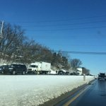 Traffic alert: Rt 30 west approaching Sherman street backed up after crash involving tractor trailer. @ydrcom http://t.co/UQUmHgS39C