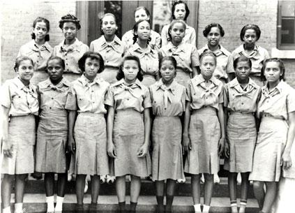 """@girlscouts: #FlashbackFriday to a historic day in our Movement. The first Black Girl Scout Troop. #BlackoutDay http://t.co/AuMt2Ad9Ve<-wow"
