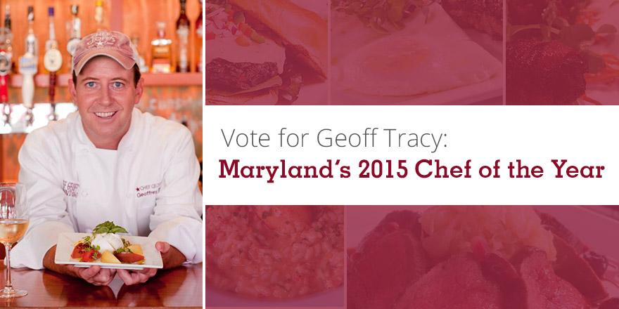 Honored to be nominated for 2015 Chef Of The Year by @RestaurantsinMD! Vote by 3/11: http://t.co/5pkoe3TBzl - thanks! http://t.co/Z65oXHPXu1