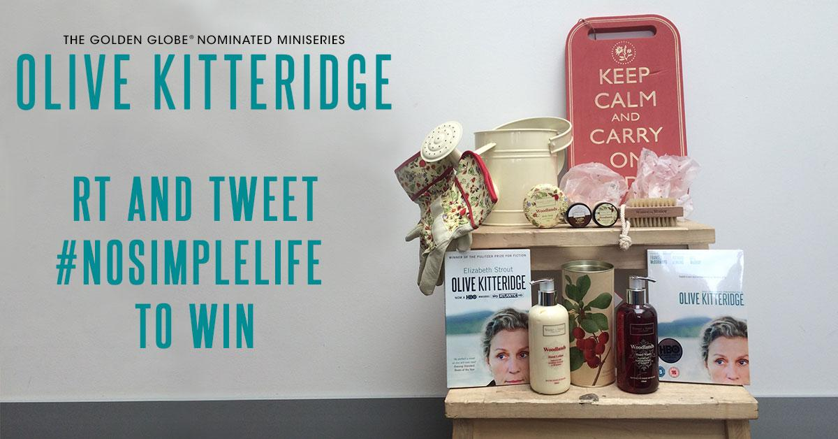 Follow, RT & tweet #NoSimpleLife for the chance to win a #MothersDay #OliveKitteridge pack http://t.co/JjvUjMQYsO http://t.co/Lwyk9Swa6l
