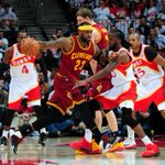 Great battle going on in Atlanta- @ATLHawks lead the @Cavs 81-79 heading to the 4th quarter. http://t.co/A5M3NWV8r8