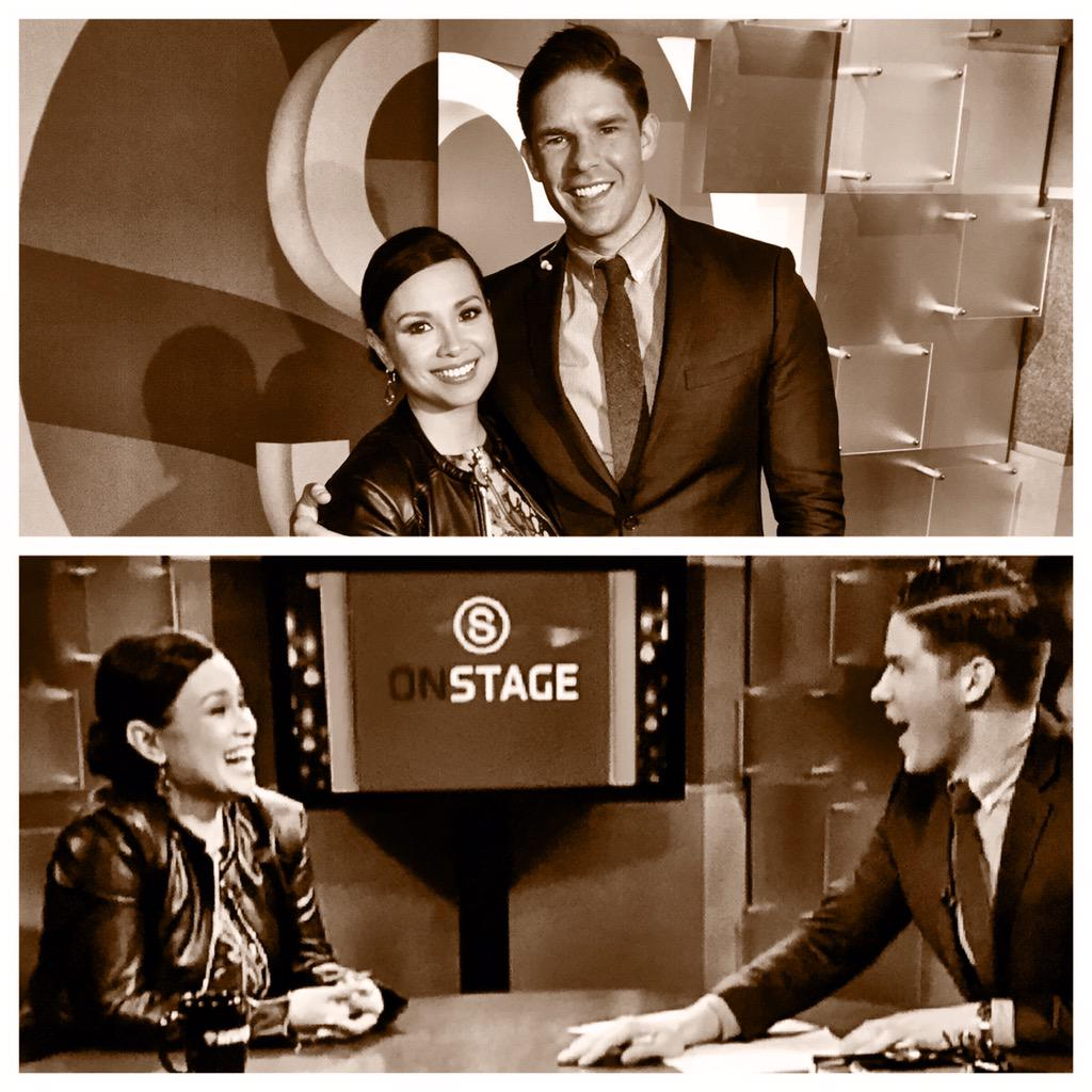 Always great hanging out with this fancy Tony winner - @MsLeaSalonga. Check out her show this Sat. at @TownHallNYC! http://t.co/QoEygjUphs