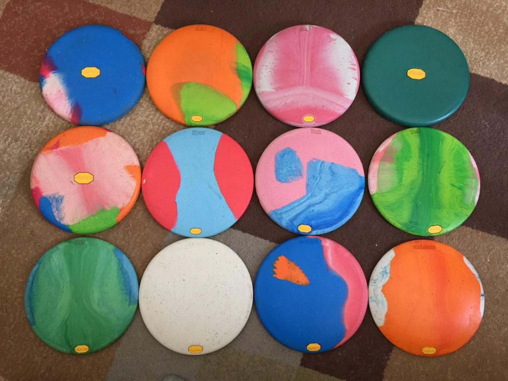 @zendiscgolf picking up most of the Vibram discs lately. Really like them! http://t.co/U5xPrhCygU