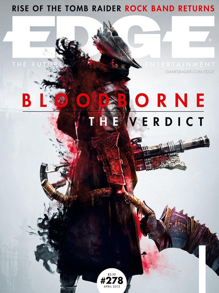 We deliver our Bloodborne verdict In the new issue, out tomorrow. Here's the cover: http://t.co/fB1rCuPSYc