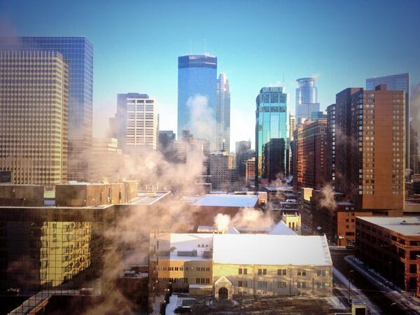 Minneapolis: so cool, it's cold! http://t.co/qpv3UJ4zYa