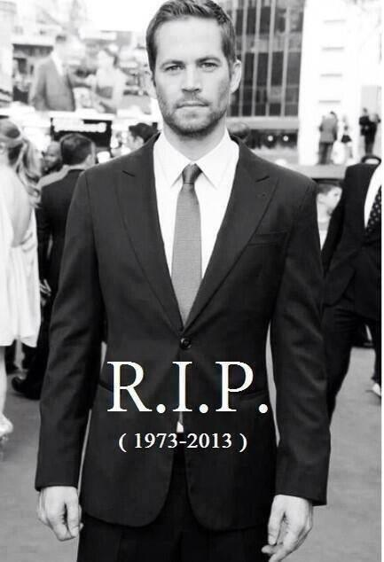 Race in Peace, Paul Walker... You will be totally missed. #RIPPaulWalker http://t.co/IpW0tlhYVE