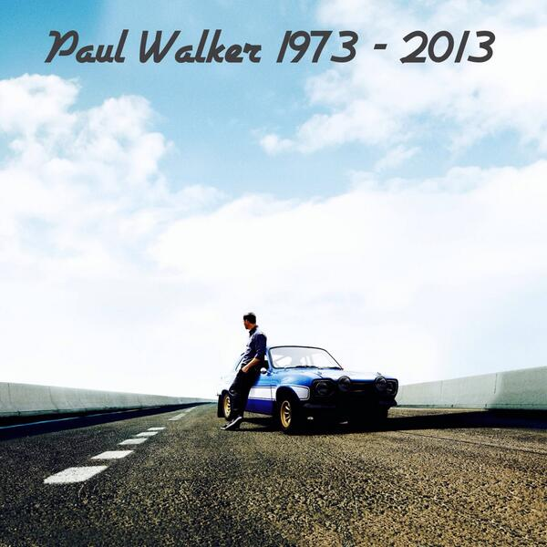 Paul Walker falleció ayer en un accidente automovilístico rumbo a un evento de caridad. Descanse en paz http://t.co/pcXrL5u2cA
