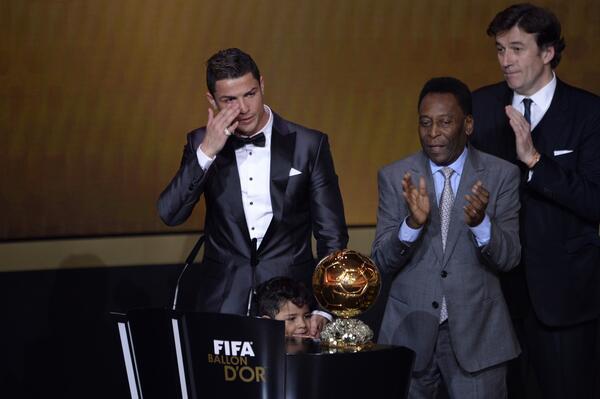 Реал Мадрид, Криштиану Роналду, Золотой мяч, Барселона, Лионель Месси