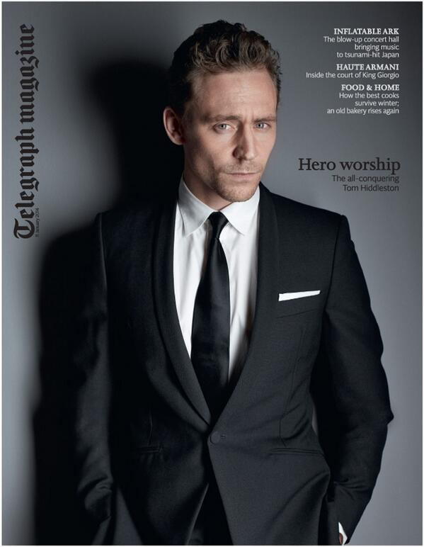 Our cover star tomorrow is the actor Tom Hiddleston. Plus we have an interview with Lupita Nyong'o. http://t.co/SI4Dm2j4zt