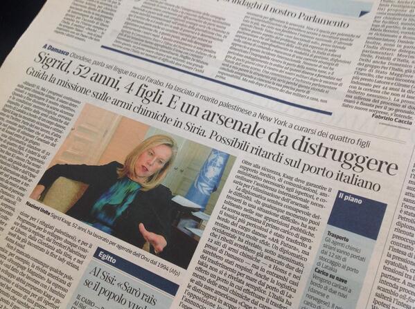 Bene @Corriereit, la prossima volta però anche quando parlate di un diplomatico uomo fate titolo su quanti figli ha http://t.co/gTibbgGL8y