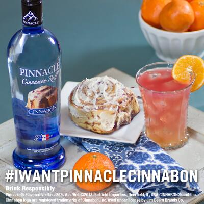 We want to see your Pinnacle® brunch pics! Use #iwantpinnaclecinnabon to show us the goods!! http://t.co/9uoOBMKNJu