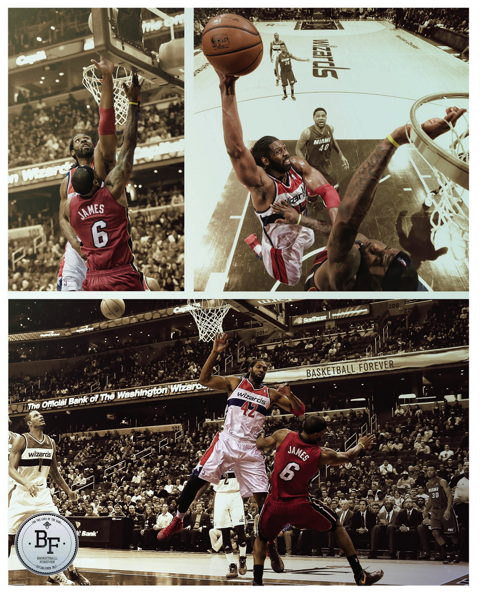 """LeBron got Blocked & Dunked when the Wizards crushed the Heat by 17. ESPN didn't show http://t.co/ri2q0CemMS""""@ColtonRing14"""