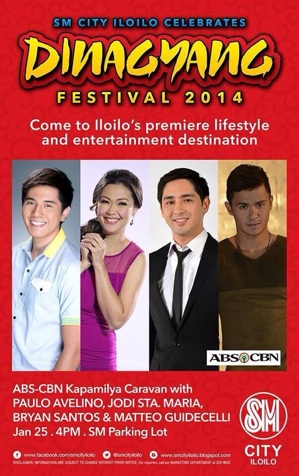 Ms. Jodi Sta. Maria will be in SM Iloilo for the 'Dinagyang Festival 2014' on January 25 at 4pm. Salamat! :-) http://t.co/m8gCfnactk