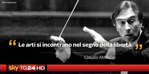 Addio al maestro Claudio #Abbado, uno dei più grandi direttori d'orchestra di tutti i tempi: http://t.co/7gaLirxaHg http://t.co/O7rzVtDTyr