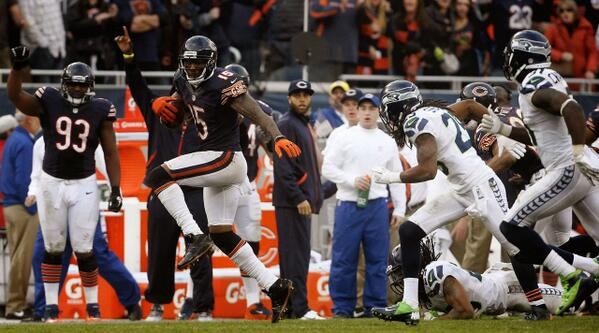 Brandon Marshall put up 10 rec, 165 yards on Richard Sherman and LOB. #Bears http://t.co/PGioDN2mxe