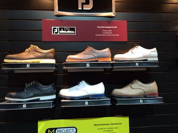Introducing FJ City, street style designed for golf. #1ShoeinGolf http://t.co/SRZMzUf26Y