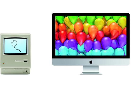 """When Apple introduced the Mac in 1984, people asked who """"who needs a PC?"""" Same question today. http://t.co/Y36AdINJvz http://t.co/JVEEqyn6De"""