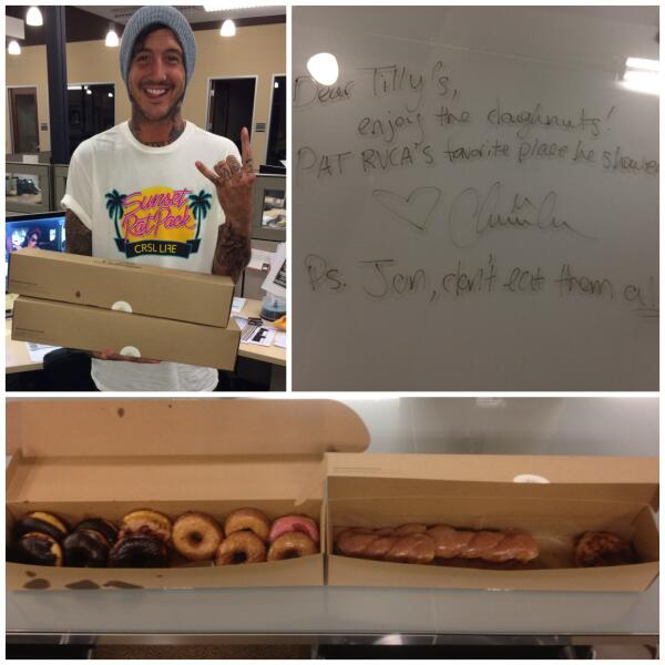 Who gets donuts delivered to their office by @AustinCarlile on a Friday? We do! http://t.co/q4pM89gzZ3
