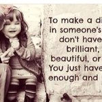 Make A Difference In Someones Life! @10MillionMiler @DavidKWilliams #inspiration #leadership #love #quote https://t.co/i66nHXAhlJ