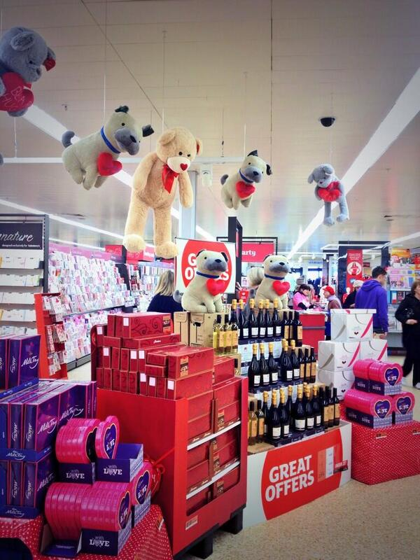 The pressure of Valentine's has proved too much for the toys at my local Sainsbury's http://t.co/BJSbiafWWg