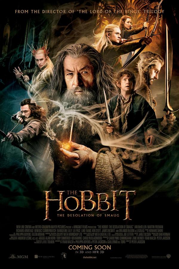 Iemand nog een plekje over voor de poster van The Hobbit: The Desolation of Smaug?   RT om kans te maken! http://t.co/5wlN7x8lKf