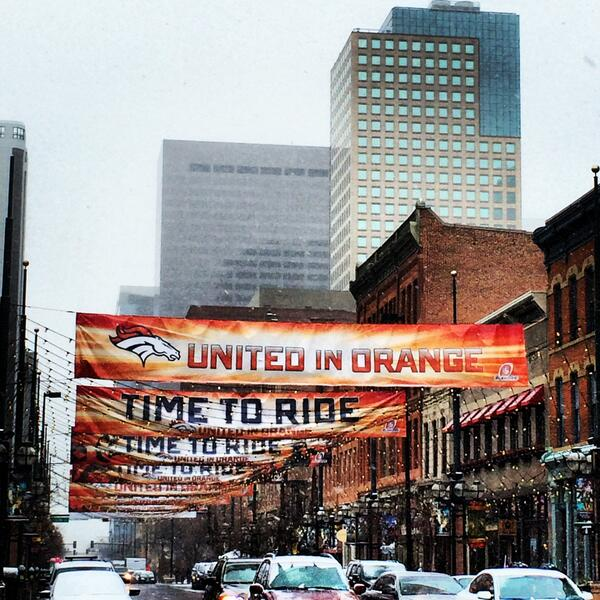 This weekend is dedicated to the @Broncos! Hope everyone has a safe and warm weekend and #GoBroncos! #UnitedinOrange http://t.co/rqEkVk5p9d