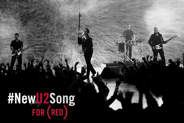 You've got until Feb 3 11:59pm EST to download #NewU2Song free & $1 goes to fight AIDS w/ @RED http://t.co/45EcQA2gjI http://t.co/9wzlLGzunB