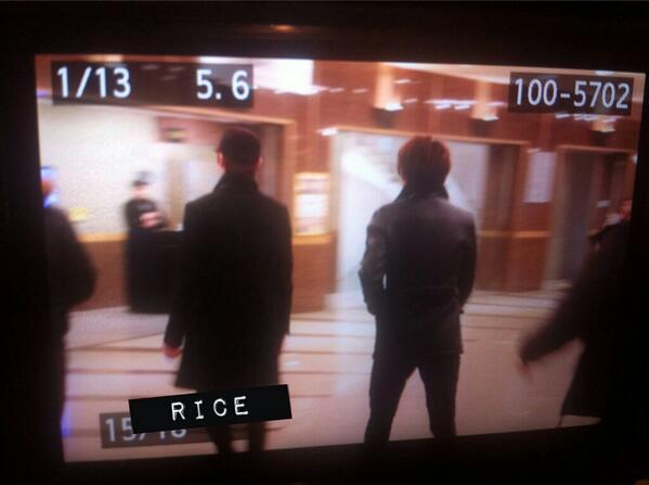 Minho and kwanghee appeared at kyu's musical ! (Cr : rice,bling_saur) http://t.co/i4k5VNifhL