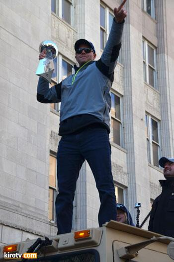 #stevenhauschka made it to the #12parade http://t.co/SEOc163cnC