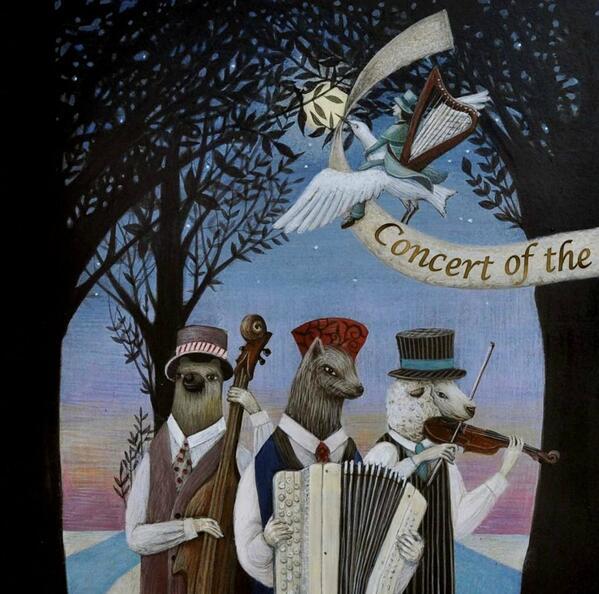 ハンドリオン「森のサーカス夜奏会」3月19日発売しました。ネットサイト、CD店にて販売中です。ケルティックハープ、フィドル、アコーディオン、チェロ、バグパイプ、ハーディガーディが紡ぎだすカラフルな音のファンタジックワールド ♪ http://t.co/Q7FoFcwsYg