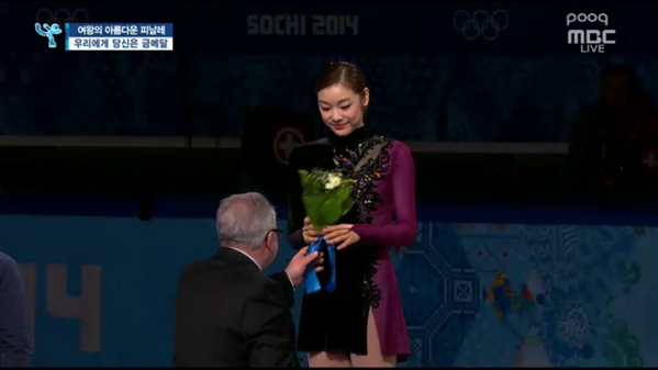 [2014 #소치 #동계올림픽] #김연아 선수, 은메달 획득! 이미 당신은 우리에게 금메달입니다! 너무나 수고하셨습니다. 자랑스러운 김연아 선수의 마지막 경기, 영원히 잊지못할 겁니다! http://t.co/UQRnpOdLZx