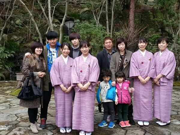 가족들이랑일본여행왓어요~~♡ http://t.co/Ux4SkDspdn
