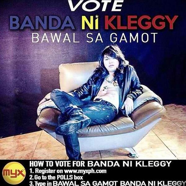 Let's Vote for bnk's newest single! Bawal sa gamot. Gawin nating number one! http://t.co/2Rn5nh2T5S