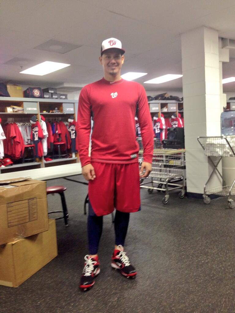 RT @Nationals: RT @JLobaton21: A shout to all @Nationals fan: Holaaaa. I'm ready to give my best. Do I have your support? http://t.co/mUL4f?