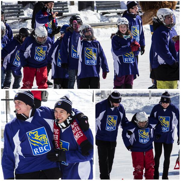 @RBC, Supporter of our Learn to Skate programme, brought #RBCOlympians to teach #skating on the #Natrel Rink http://t.co/KJCyP4iSUq