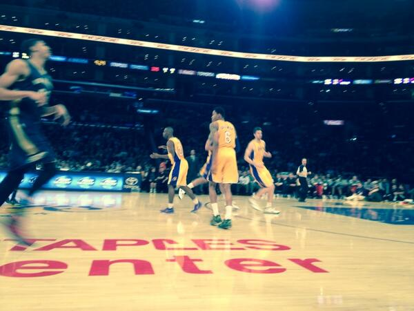 My favorite player at this game, @lakers @#6 Kent Bazemore http://t.co/My87Ce6yX5
