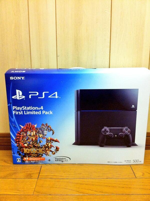 【PS4開封】フフフフ、、、。ついにこの時がきたようだ。 #PlayStation #PS4 http://t.co/zDmWciSLR5