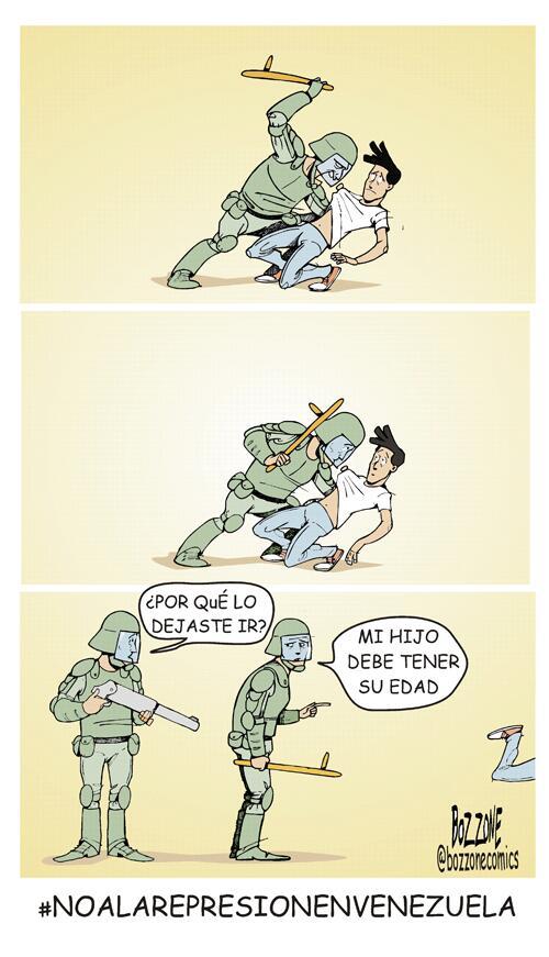 """-->""""@el_carabobeno: Compartimos con ustedes la caricatura de este domingo 23, realizada por @BOZZONECOMICS http://t.co/009CbeEWVK"""""""