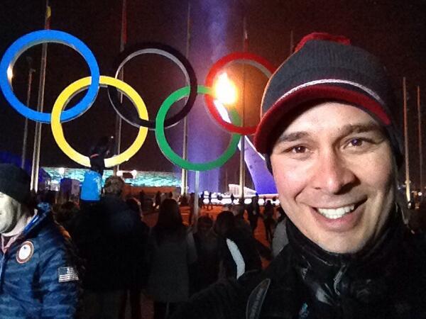 The flame will soon be extinguished. #Sochi2014 #SochiSelfie http://t.co/gHsjJAJTdy