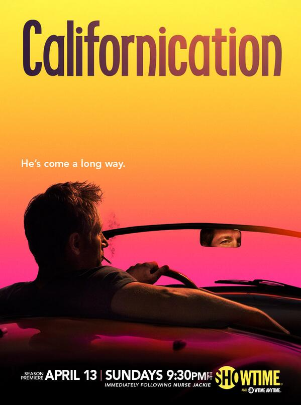 Hank's headed for the finish… Check out the official poster for the new season of #Californication, premiering 4/13! http://t.co/YY5ukiIPg2