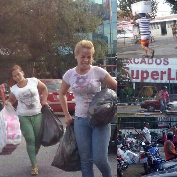 """Crusmila Ramos (@CrusmilaRamos): """"@Dzkrgado_Mcy: #ElLimon #Maracay #25F no es hambre señores esto es vandalismo permitido por los cuerpos policiales http://t.co/EVCBw458Gz"""""""