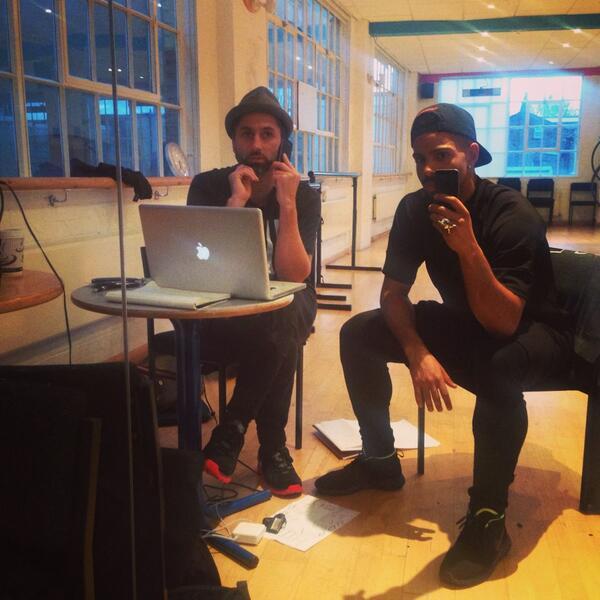 Lab rats @OfficialMrStorm @MassMovementLon prepping. @AllSaintsOffic tour http://t.co/FzuDueNpOy