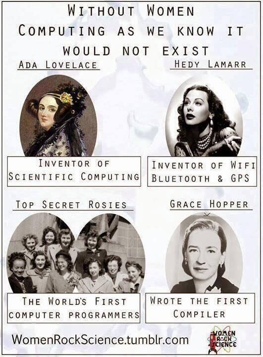 Without women, there'd be no modern computing. @originmagazine @alondra @selenajoy2 @svitlanax @HipHarpist @zoecello http://t.co/0t28vBufIz