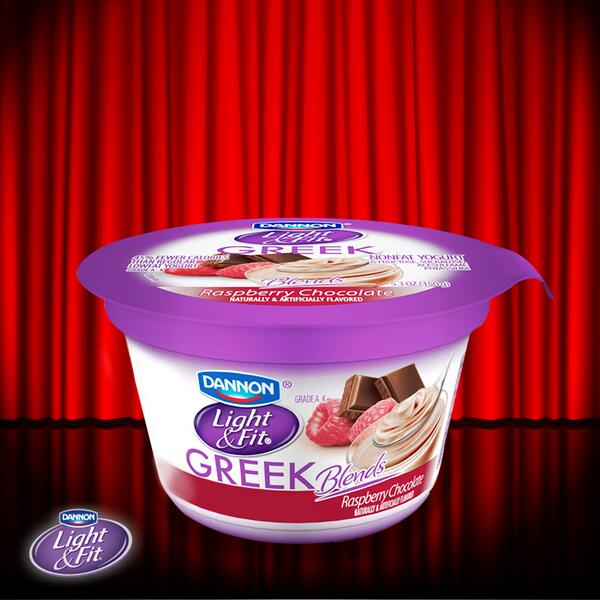 A new and upcoming star…Raspberry Chocolate Dannon Light & Fit Greek Nonfat Yogurt! http://t.co/pbO1HVeskN